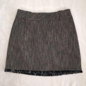Karen Millen Skirt with Fringe sz 6